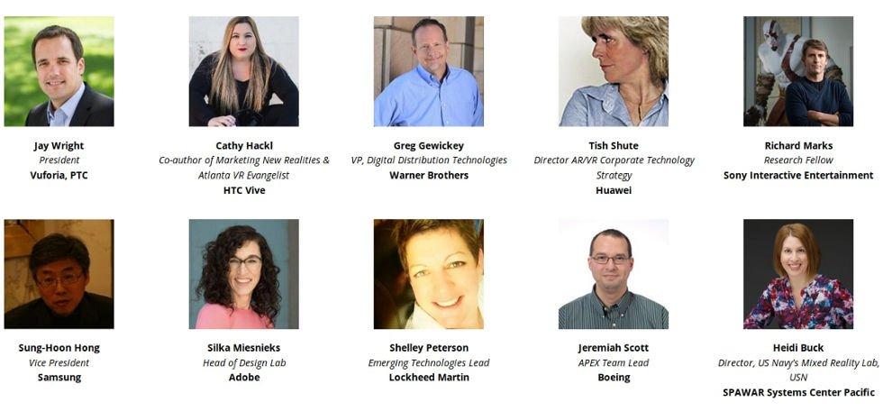 AWE 2018 speakers