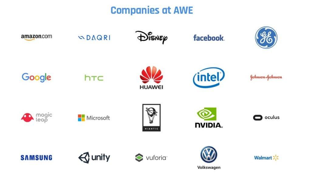 AWE 2018 sponser companies