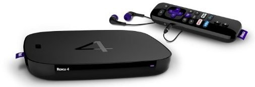 Roku 4 Streaming Media Player