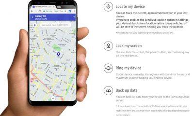 Find my mobile samsung app