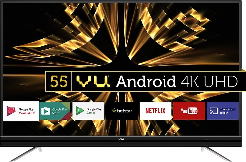 VU 4k Android UHD TV