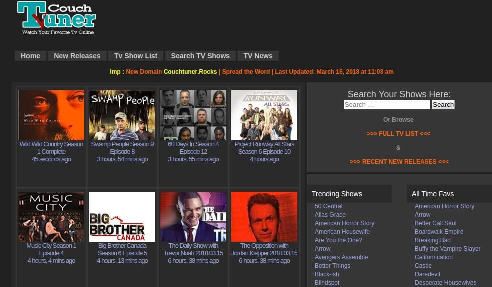 6 Couchtuner Alternatives You Should Try For Online Tv Streaming