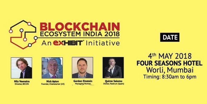 Blockchain Ecosystem India 2018
