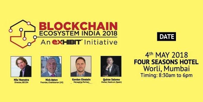 Blockchain Ecosystem India 2018