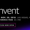 AWS re:Invent summit 2018