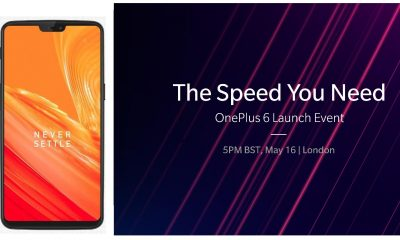 OnePlus 6 Images