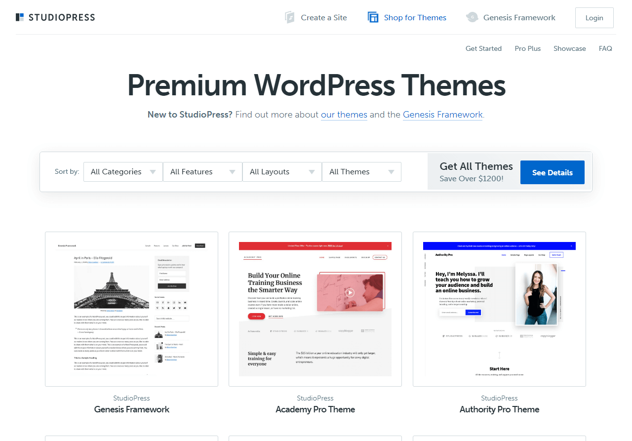 StudioPress WordPress Themes Review