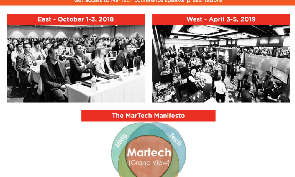 MarTech Tech Event Conference 2018