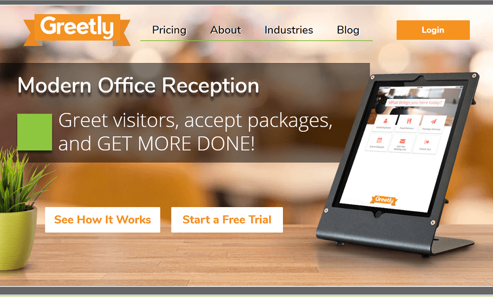 Greetly Visitor Management System