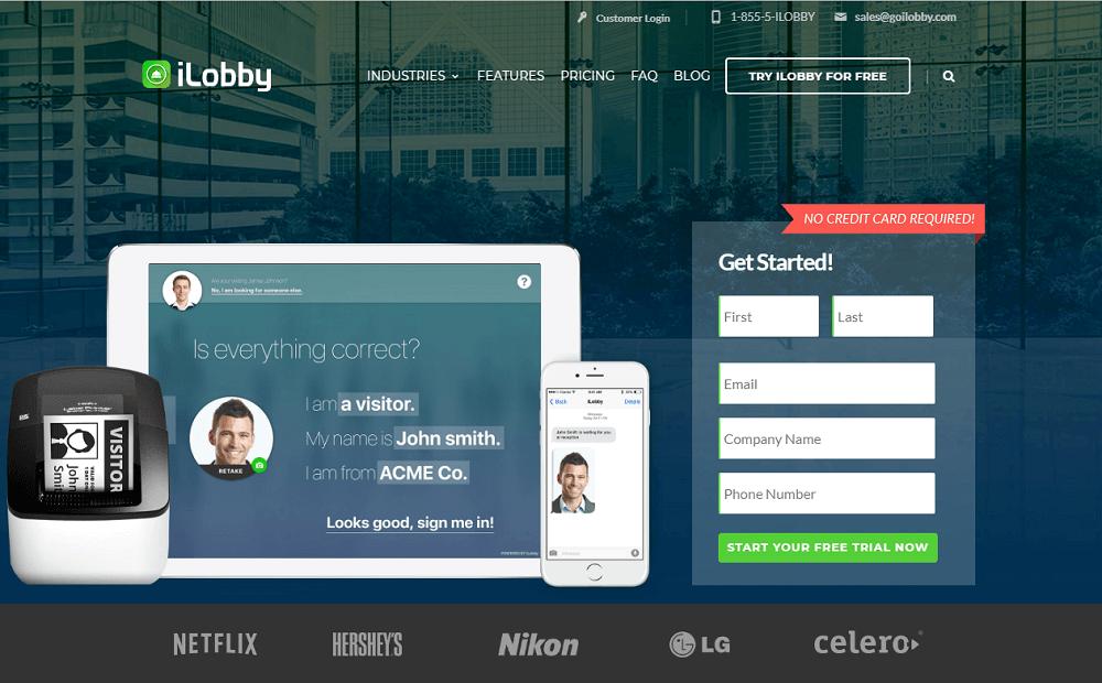 I Lobby Visitor Management System