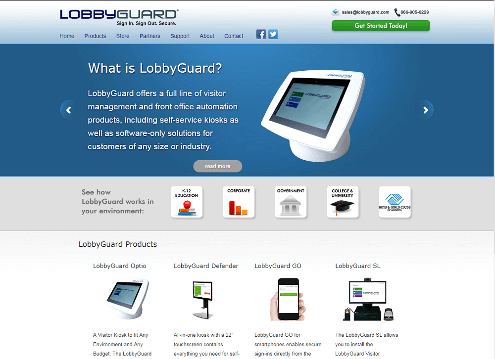 Lobby Guard Visitor Management System