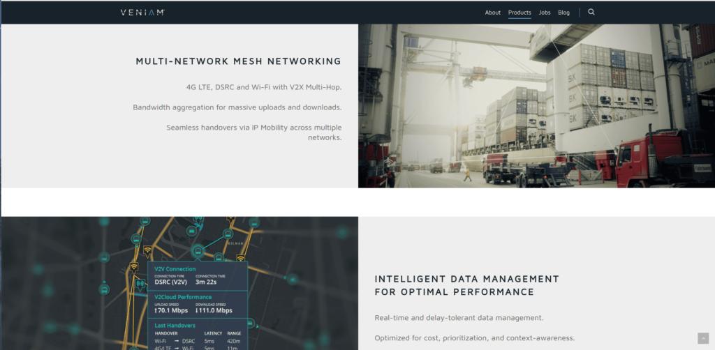 Logistics startups: Veniam