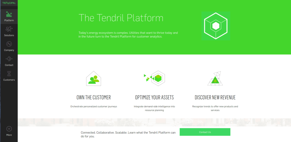 IoT startups in supply networks: Tendril