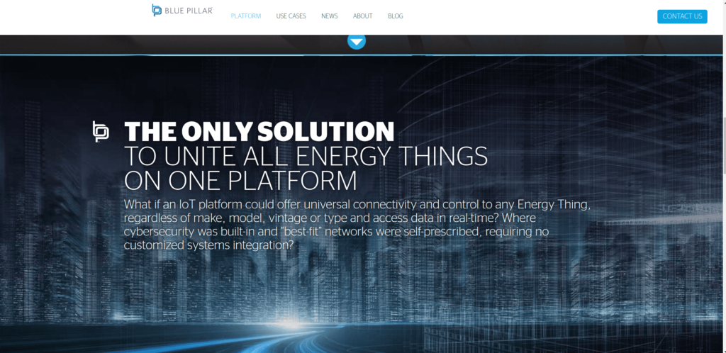 IoT startups in supply networks: Blue Pillar