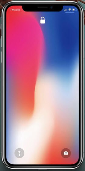 iPhone X Locked