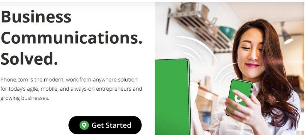 Phone.com voic services