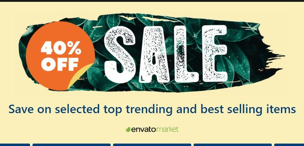 Envato market offer