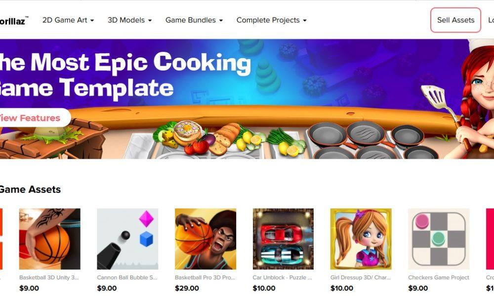 GameGorillaz Marketplace