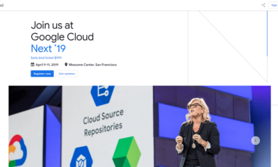 Google Cloud Next 2019 - Tech Event