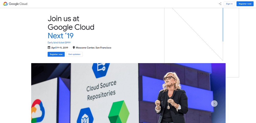 Google Cloud Next 2019 - Tech Event