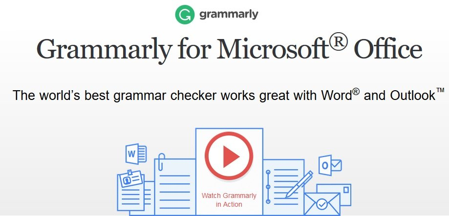 grammarly for ms office