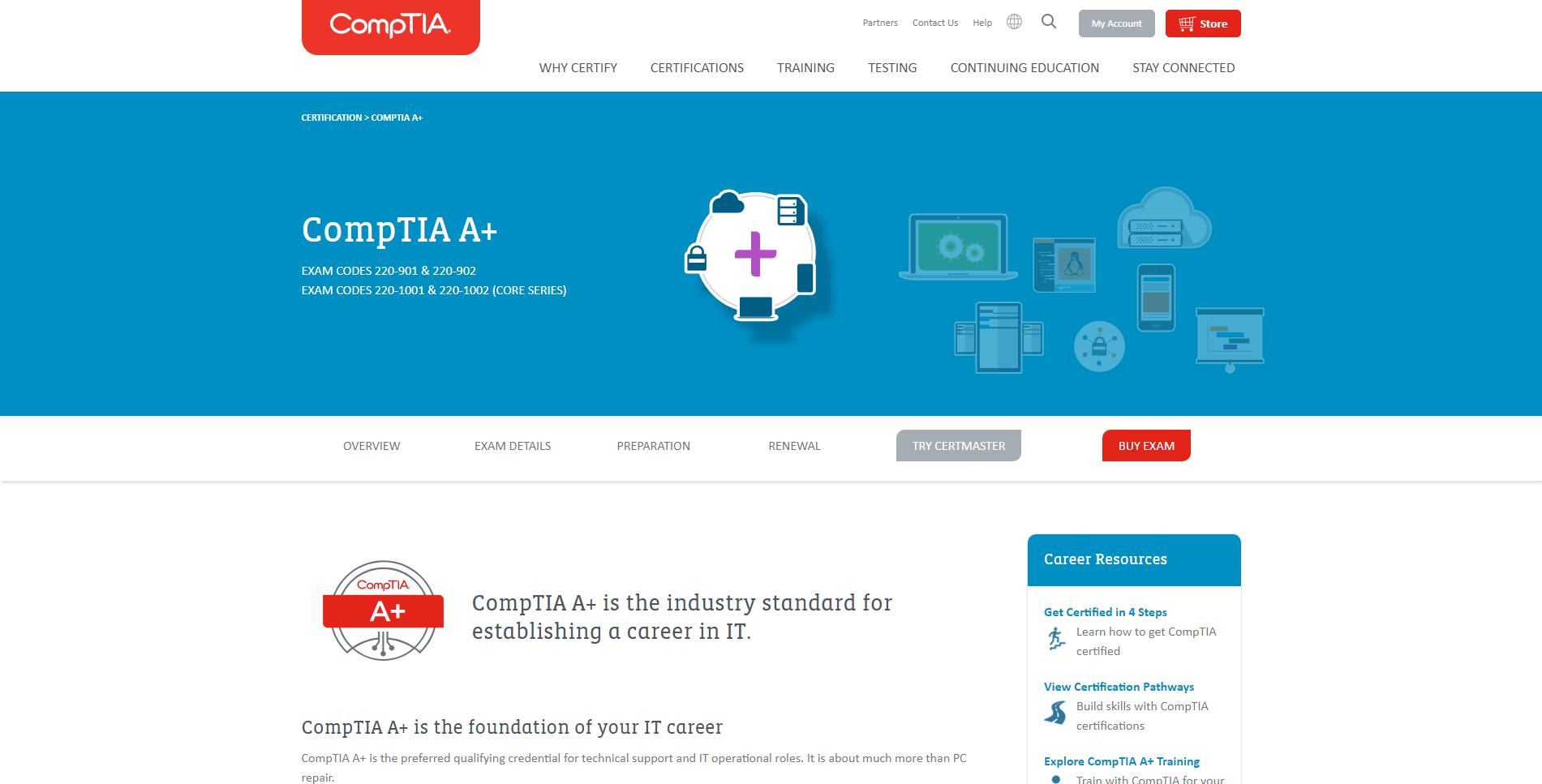 CompTIA A+ Technician
