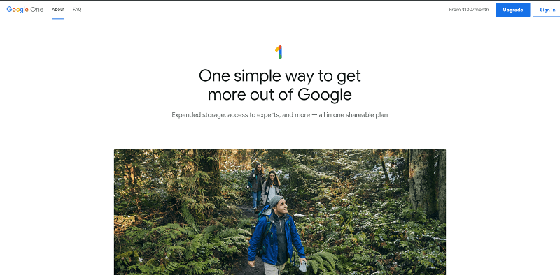 Google One Drive Cloud Storage