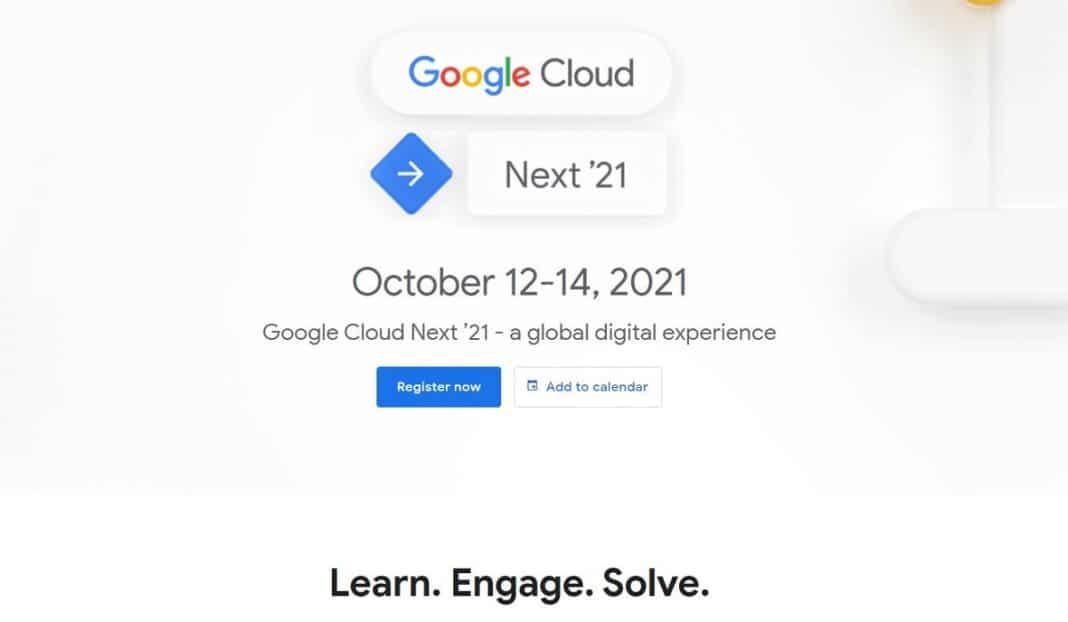 Google Cloud Next Event