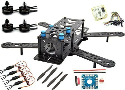 LHI 250mm Pro Pure Carbon Fiber Quadcopter
