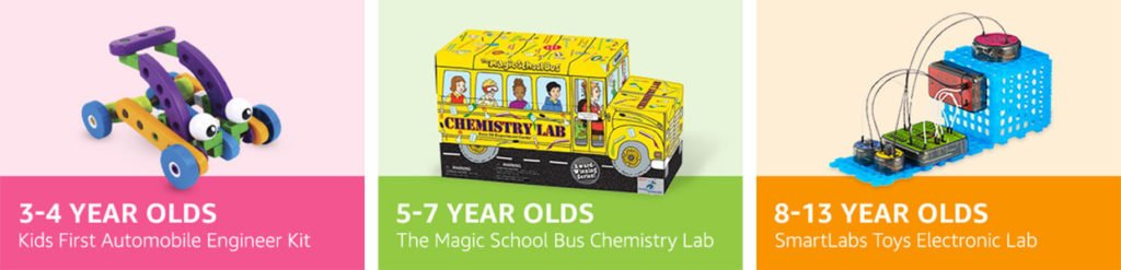 STEM CLUB TOY SUBSCRIPTION BOX