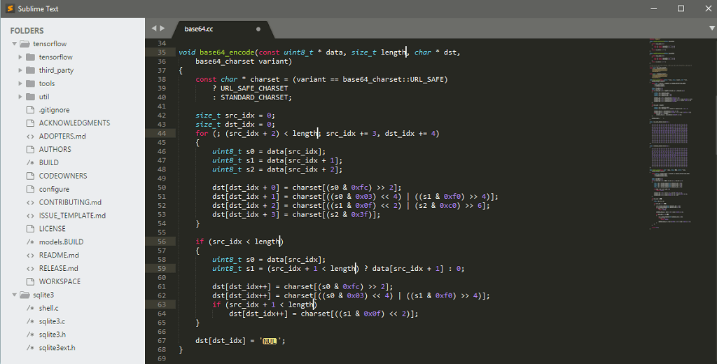 Sublime Code Editor