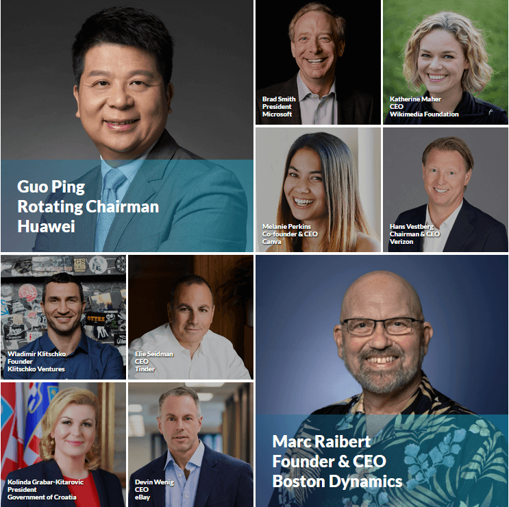 Web Summit 2019 Speakers in Lisbon, Portugal