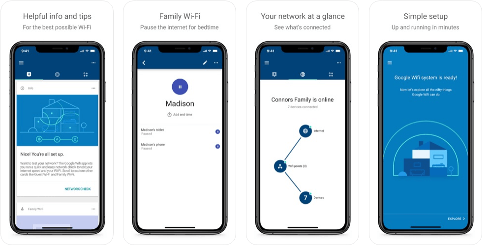 Google WiFi App - Share Your WiFi Password from iPhone to Android