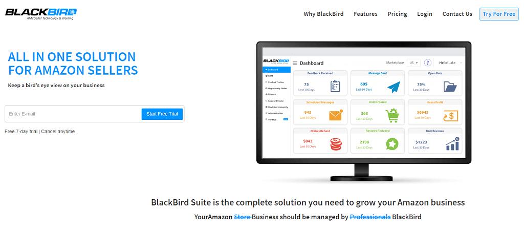 BlackBird - Best Amazon Listing Optimization Tool
