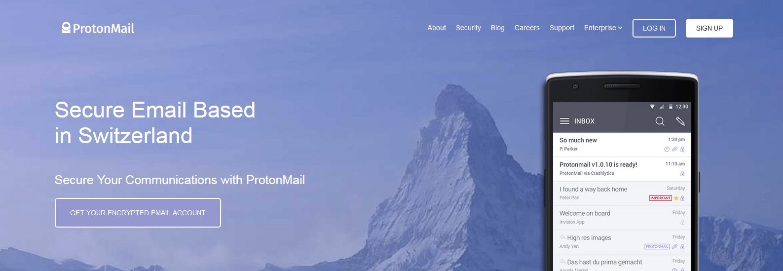 ProtonMail - Create Your Secure Anonymous Email Account
