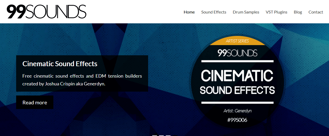 99sounds.org - Download Free Sound Effects & Music