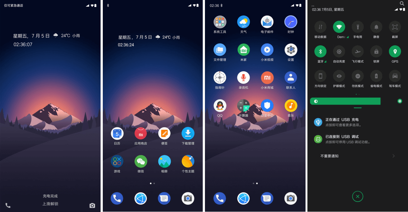 Dark Android - Download MiUi 11 Themes