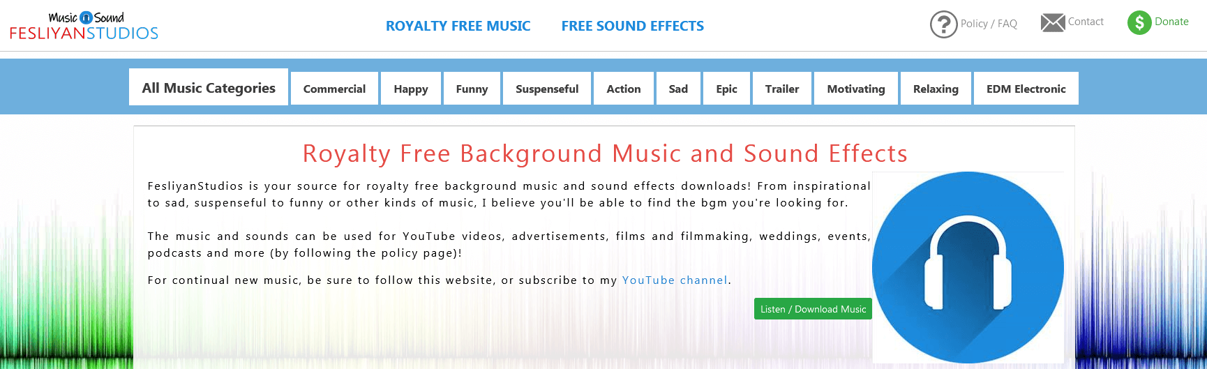 FesliyanStudios - Royalty Free Music and sound effects