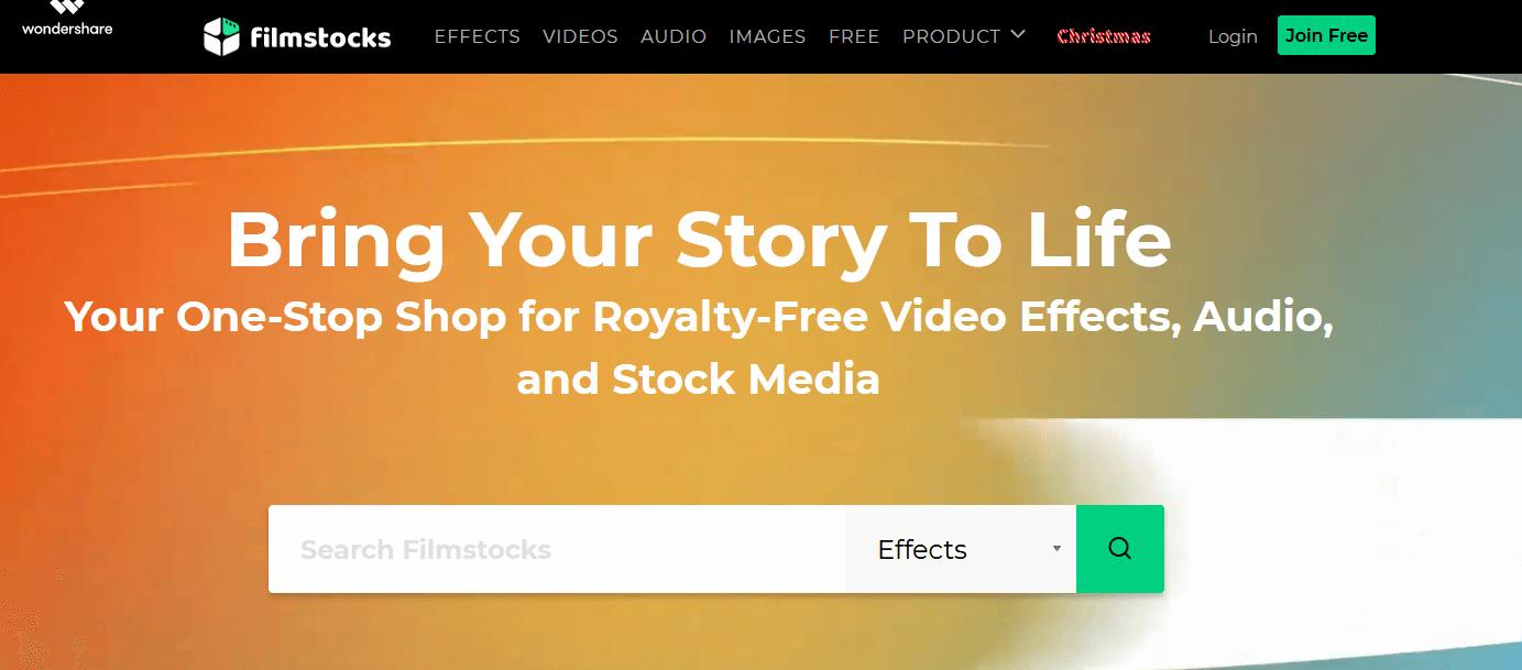 FilmStocks - Royalty Free Video Effects & Audio