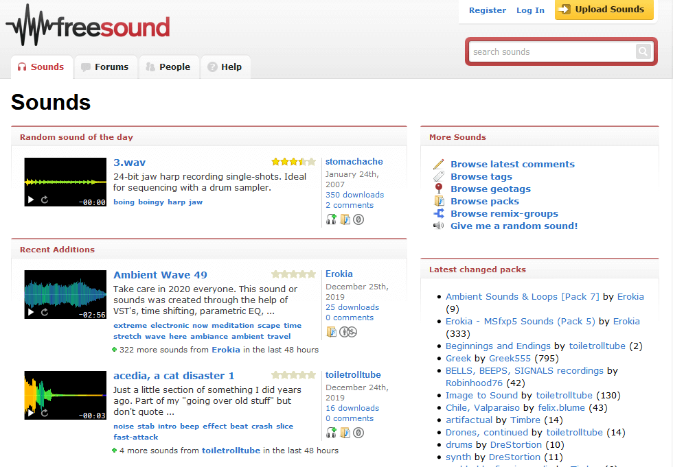 Freesounds - Download Free Sound
