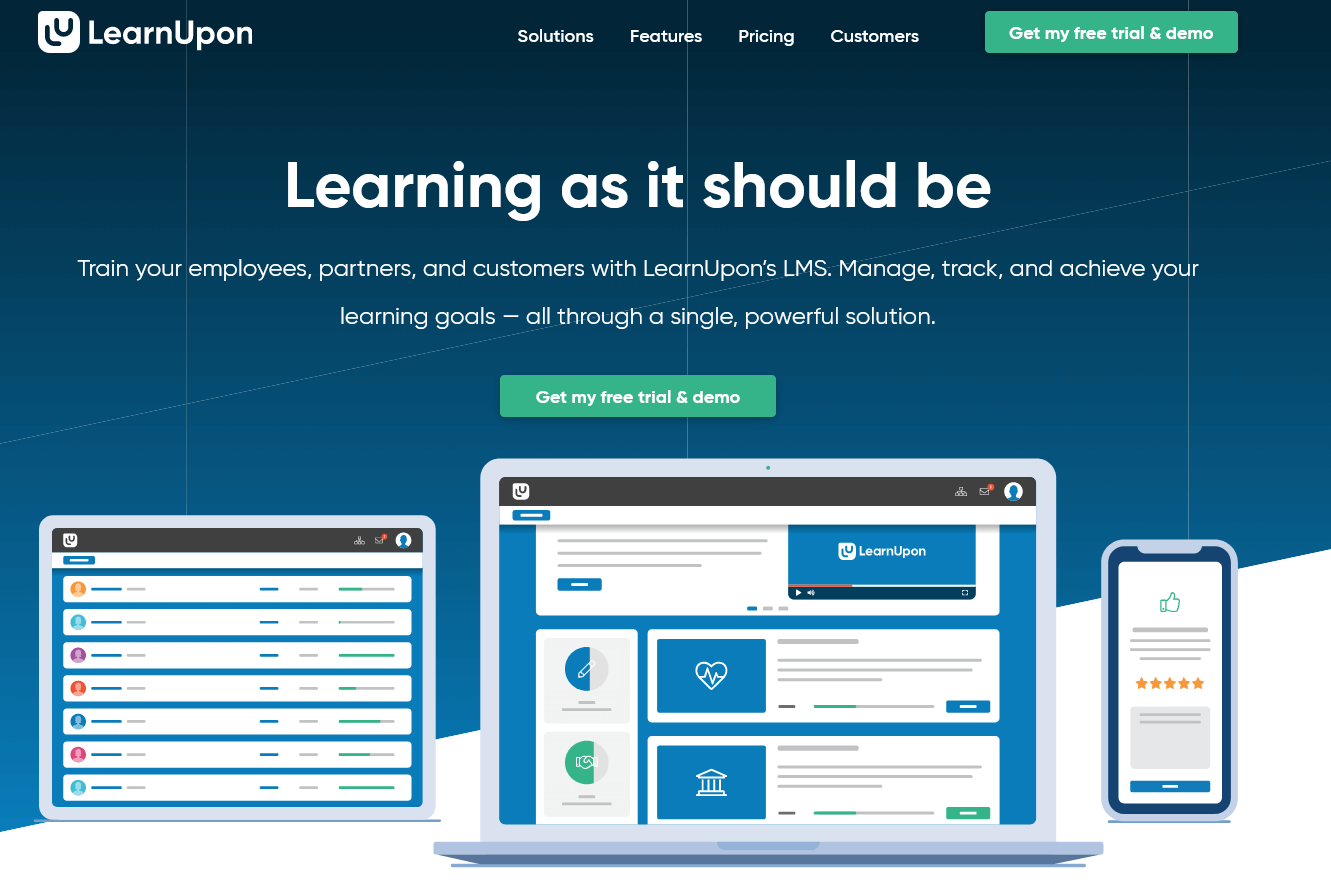 LearnUpon LMS Software