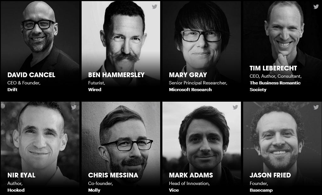 TNW 2020 Speakers