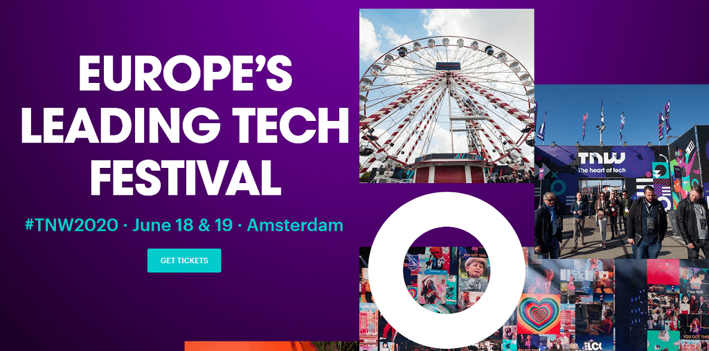 TNW Tech Conference 2020 in Amsterdam, Europe's