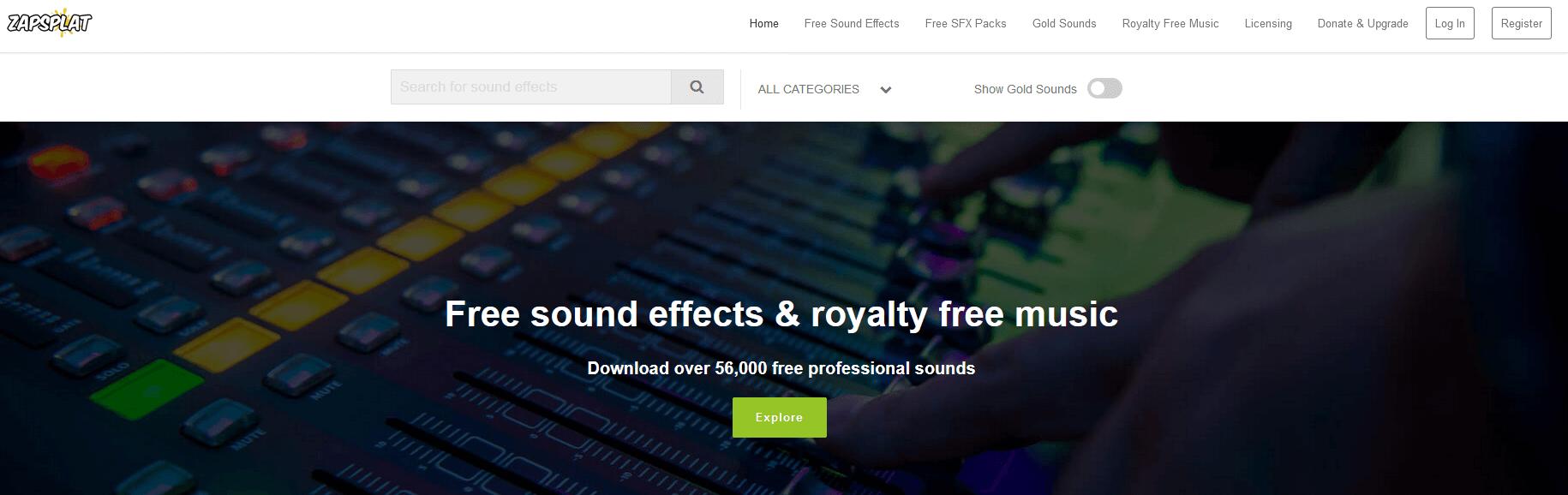 Zapsplat - Download Royalty Free Music