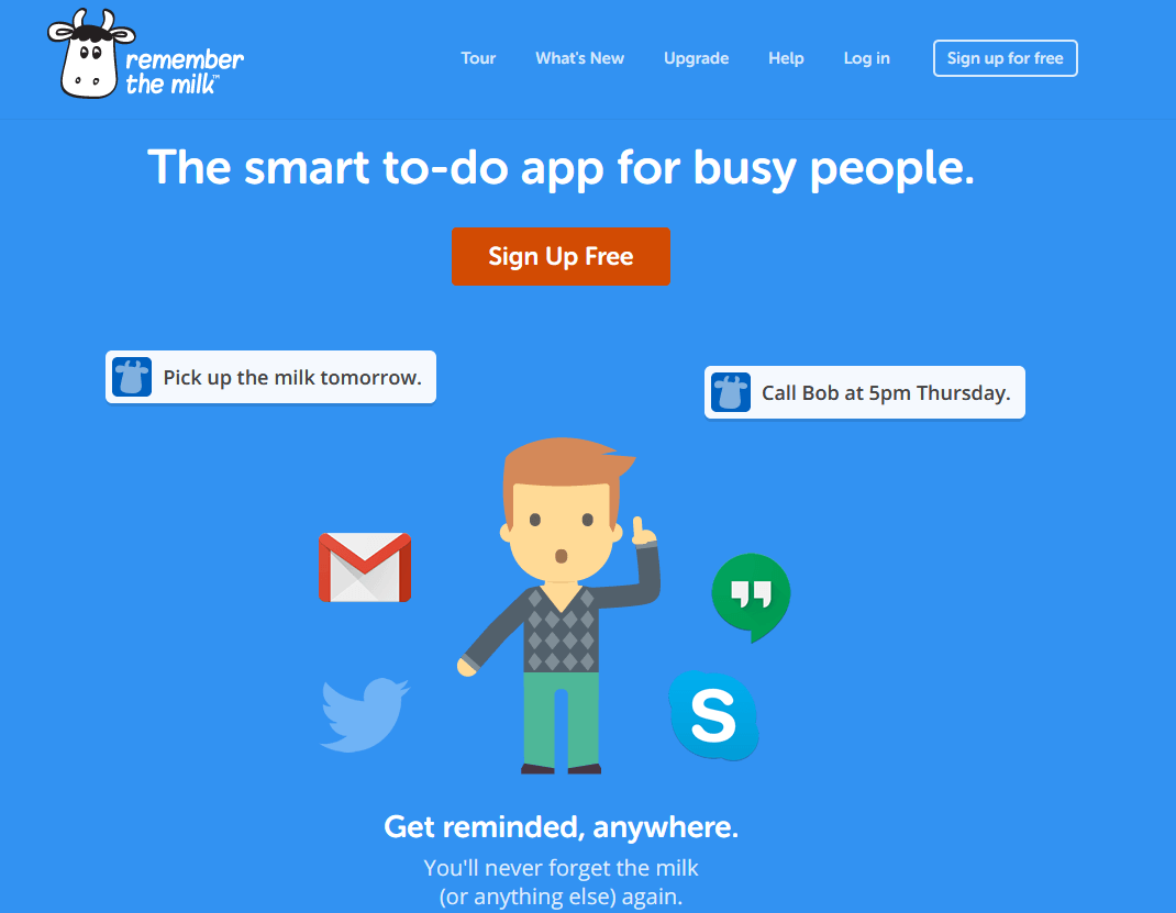 Remember The Milk- Smart to-do app for busy people