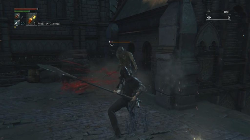 Gameplay of Bloodborne