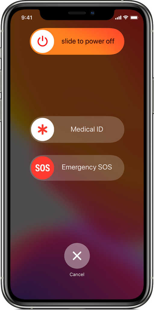 Set up emergency contacts on iPhone