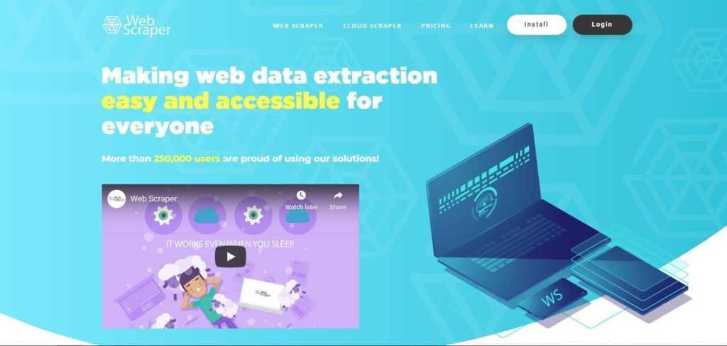 Webscraper
