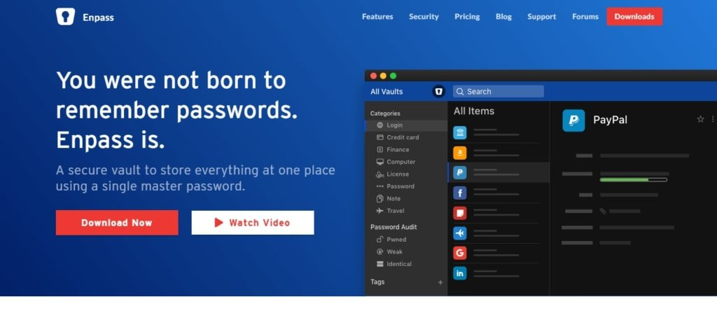 enpass simple and effective password manager