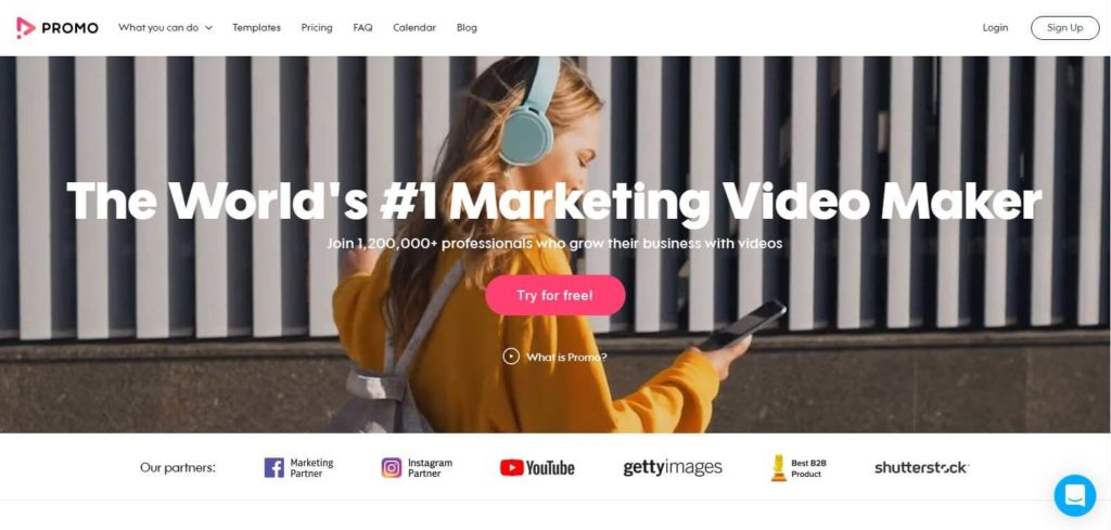 promo maketing video maker tool